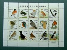 IRELAND 1997 - BIRDS OF IRELAND MINIATURE SHEET (15 STAMPS) - MINT NEVER HINGED