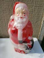 "Vintage Empire Blow Mold Santa Claus 13.5"" 1351-1379 Original Package Christmas"