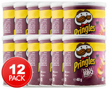 Pringles Texas BBQ Sauce sabor a las patatas fritas 40g X 12 tubos descuento al por mayor 224676
