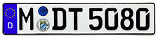 BMW Munich Rear German License Plate by Z Plates wtih Unique Number NEW