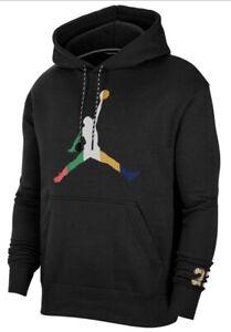 Rare Retro Jordan Nike Hoodie Large
