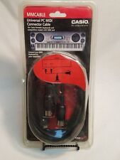 Casio Universal PC MIDI Connector Cable Computer to Keyboard (MMCable) Brand New