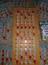 ''SENIOR FRIENDLY BINGO KIT (MASTERBOARD, CALLING CARDS, 10 BINGO SHUTTER CARDS