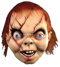 Halloween BRIDE OF CHUCKY Latex Deluxe Mask TOT's Officially Licensed