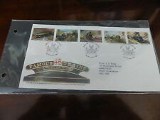 Fancy Cancel Trains, Railroads Great Britain Stamps