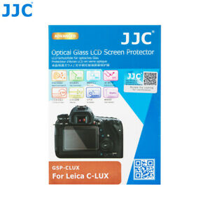JJC GSP 2.5D Tempered Optical Glass LCD Protector for Panasonic TZ200 TZ220 TX2
