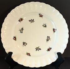 Spode-Copland Dinner Plate, Chelsea Wicker Flower Sprigs, c. 1951