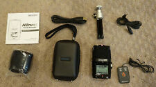 Zoom H2n Recorder with Case, Remote, and Other Accessories