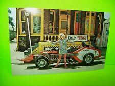 VoxMobile Postcard Vox Guitar Hippy Beatnik Hot Rod Car Barris 1960s Original