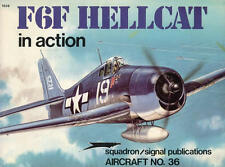 F6F Hellcat in Action Aircraft Number 36 Squadron/Signal #1036 by Jim Sullivan
