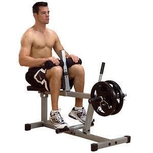 Seated Calf Raise Machine Powerline PSC43X Home Gym Strength Training Equipment