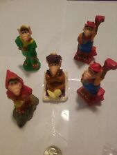 Lot of 5 Wendy's Alf Premiums Toys 1990 PVC VINTAGE