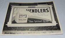1929 Hendler's Ice Cream Advertising Building Sign Photograph Rose O'Neil Kewpie