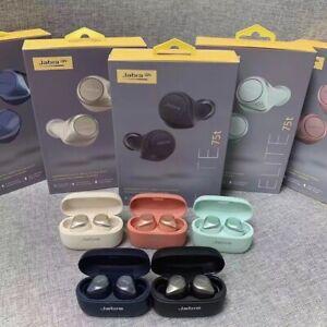 Hot Jabra Elite 75t True Wireless Bluetooth Earphones Headphones Earbuds