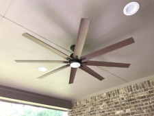 """Outdoor/Indoor 72"""" Large Windmill Ceiling Fan + Remote Bronze Patio LED Light"""