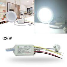 220V IR Infrared Body Motion Sensor Control Switch Automatic Light Lamp Neu
