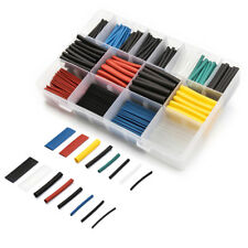 580pcs Assortment Heat Shrink Sleeve Electrical Cable Tube Tubing Wrap Wire Tool