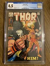 Thor #165 (1969) CGC 4.5 1st Appearance of HIM (Adam Warlock) MCU GoTG OW Pages