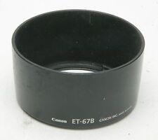 Canon Original Hood ET-67B For AF-S 2,8/60mm USM Macro Lens. Used.