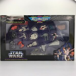1994 Star Wars Micro Machines Space Master Collector's Edition Galoob Misprint