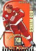 1997-98 Donruss Elite Prime Numbers #10C Steve Yzerman 9/530*