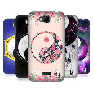 HEAD CASE DESIGNS YIN AND YANG COLLECTION CASE & WALLPAPER FOR HUAWEI PHONES 2