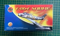 Airfix 1/72 North American F-86F Sabre model aircraft kit # 02036 Vintage