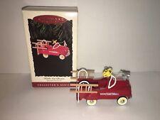 Hallmark Keepsake Ornament Kiddie Car Classics Murray Fire Truck #2 In Series 95