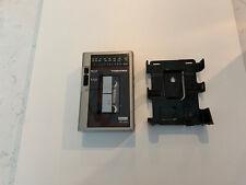 Toshiba Metal Rt-Vs3 Cassette Player Walkman + Belt Holder