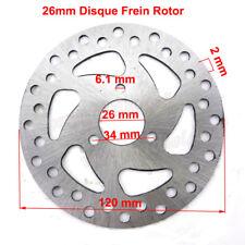 26mm Disque Frein Rotor Pour 47cc 49cc 2 stroke Gas Pocket Bike Mini Dirt Bike