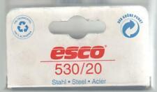 ESCO TACKERKLAMMERN 530 / 20 ---600 Stück für Esco ,Rapid