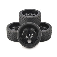 4X 1:8 Bigfoot Tires&Wheel 17mm Hex for TRAXXAS on Road Monster Truck Model Car