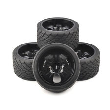 RC 4Pcs 1:8 Bigfoot Monster Truck Tires&Wheel 17mm Hex for TRAXXAS on Road Car