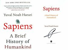 Yuval Noah Harari~SIGNED IN PERSON~Sapiens~1st US Edition + Photos!!