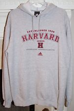 Adidas Harvard University Crimson Pullover Sweatshirt established 1636 Men's M