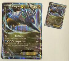 Kingdra EX ULTRA RARE 73/124 XY Fates Collide Pokemon NM HOLO Regular and Super