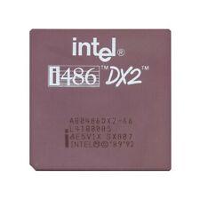 Intel 486 DX2 66 MHz CPU SX807 Vintage A80486DX-66 GOLD