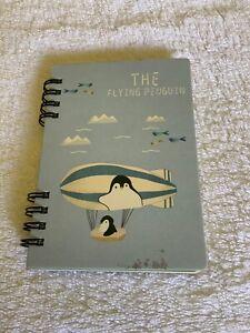 Mini Notebook Diary Flying Penguin