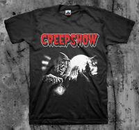 35ae4789a3d CREEPSHOW- 'Crypt Keeper' - Movie T Shirt (Classic 80's Cult Comedy Horror