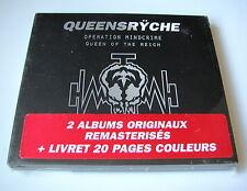 QUEENSRYCHE.OPERATION MINDCRIME/QUEEN OF THE REICH. 2CD