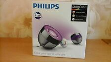PHILIPS led 70999/30/PU  Living Colors iris Lamp Black Remote control (New/mint)