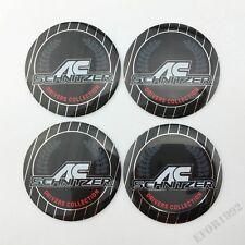4pcs AC Schnitzer Wheel Center Hub Cap Badge Emblem Sticker Fit BMW Q X M 56.5mm