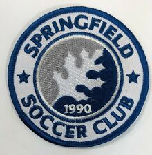Springfield Pennsylvania Soccer Club 1990 Embroidered Patch