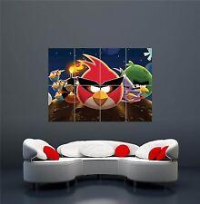 Angry birds jeu ordinateur pc poster art print xxl géant WA180