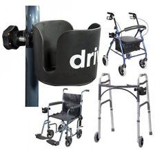 Walker Accessories Adult Disability Wheelchair Rolator Cane Cup Holder Senior