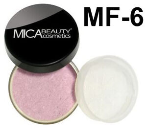 Mica Beauty Natural Loose Mineral Bronzer FB - 6 ROSY PINK 9 G + SAMPLE  BLUSH