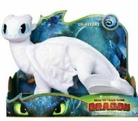 How to Train Your Dragon Large LIGHT FURY DELUXE PLUSH SOFT CUDDLY TOY FIGURE