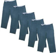 5 Pair 36x32 Green Unifirst Uniform Work Pants Used
