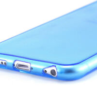 Transparent Clear Rubber Gel Back Cover Case for Apple iPhone 6 / iPhone 6 Plus