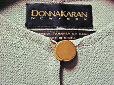DONNA KARAN unworn vintage suit Robert Lee Morris buttons 1990's sz 6 collector